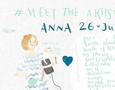 "Check out new work on my @Behance portfolio: ""Meet the artist!"" http://be.net/gallery/48267785/Meet-the-artist"