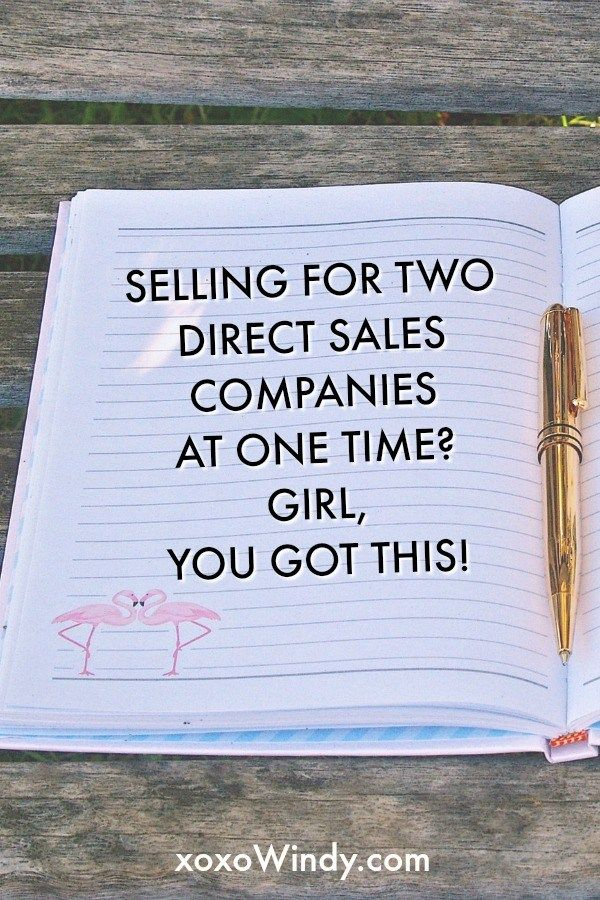 Yes, Virginia, you can manage two direct sales companies at one time.