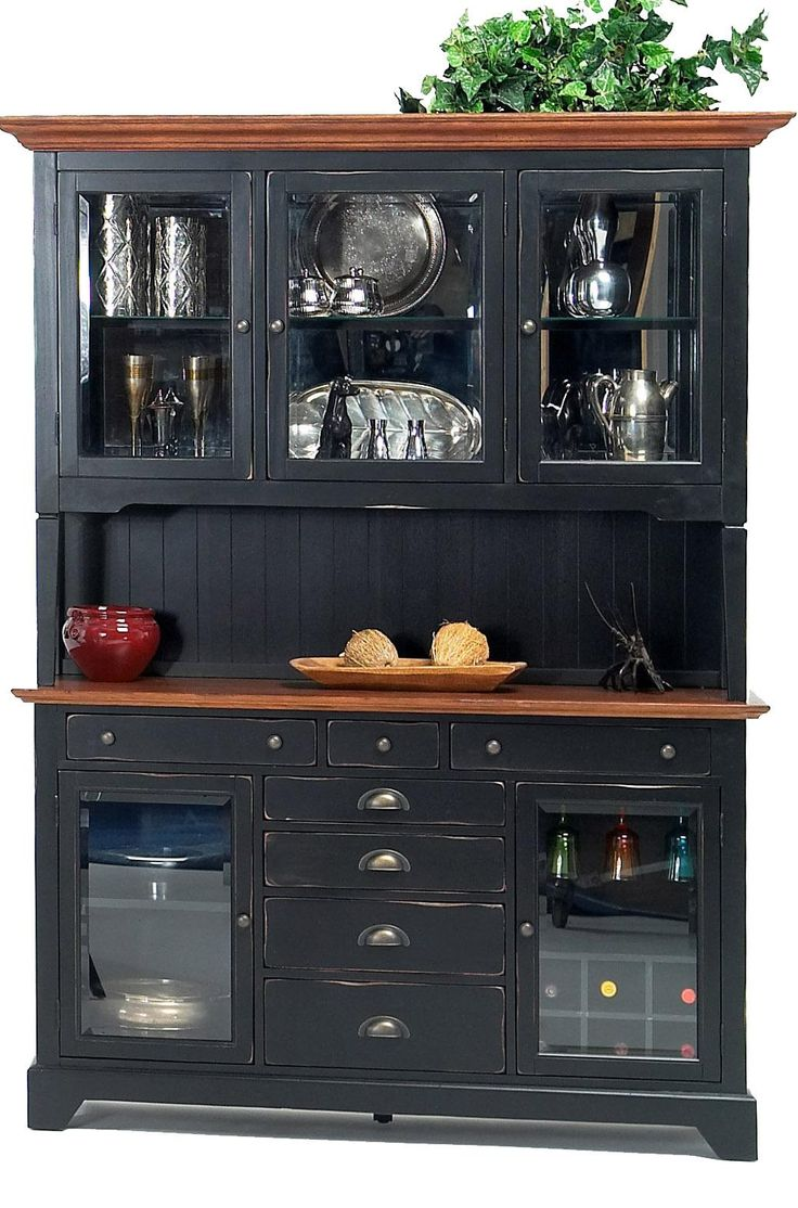 Riverside Hutch And Buffet By GS Furniture