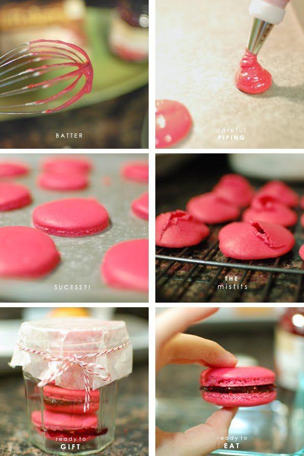 Macarons: Cake, Valentines Day, French Macarons, Swirly Macarons ...