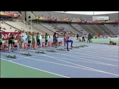 Michelle Jenneke, this cracks me up!  LOL! She really looks like she is dancing. :)