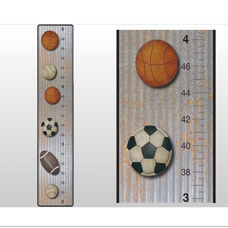 Best Growth Chart Decals Images On   Wall Decal