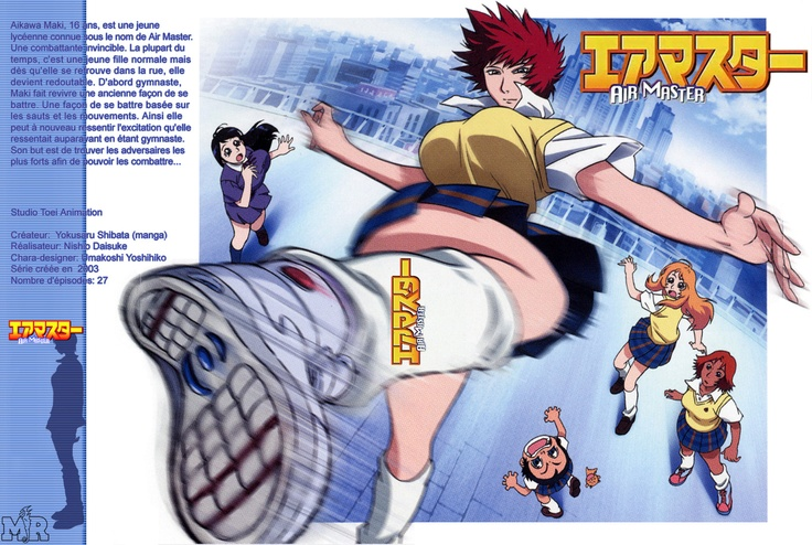 Air Master (2003) Possibly the most underrated anime ever.