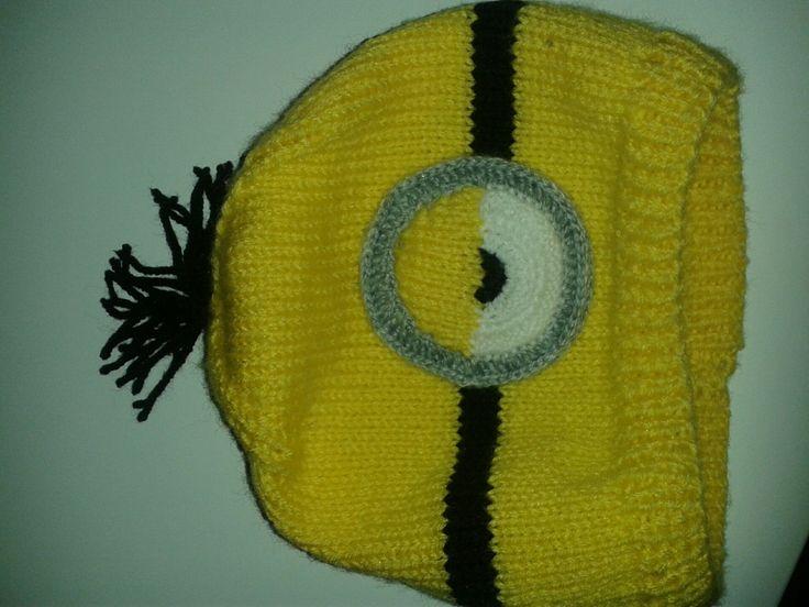 mimoní čepice - 1 oko