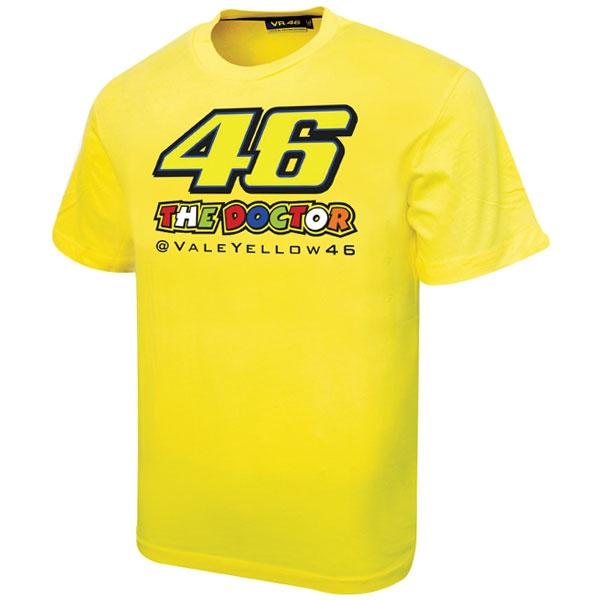 Valentino Rossi 2013 kids 46 T-shirt yellow