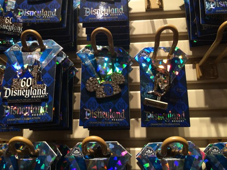 Disneyland's 60th Anniversary Merchandise Round Up