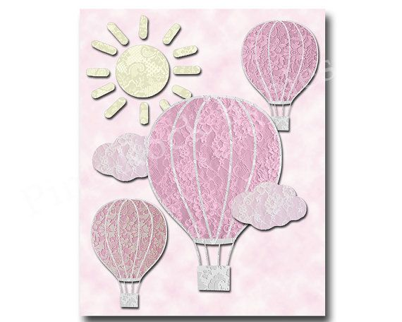 Children room decor baby girl wall decor baby by PinkRockBabies