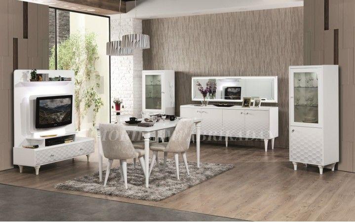 Oymalı tasarımı ve modern havası ile tasarımda öncü olacak bir yemek odası Petek Yemek OdasıTakımı #mobilya #yemek #dekorasyon #inegöl #ev #moda #modern #yaşam #tasarım