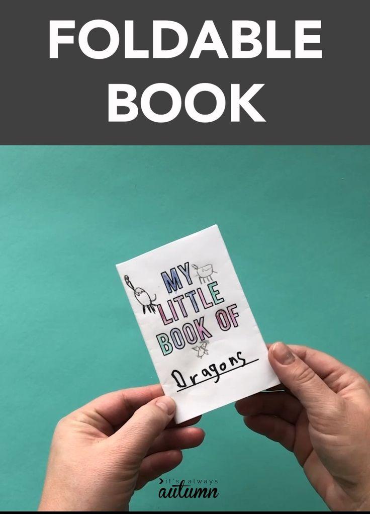 Mini Foldable Book