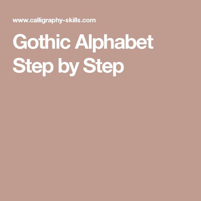 17 Best Ideas About Gothic Alphabet On Pinterest Old