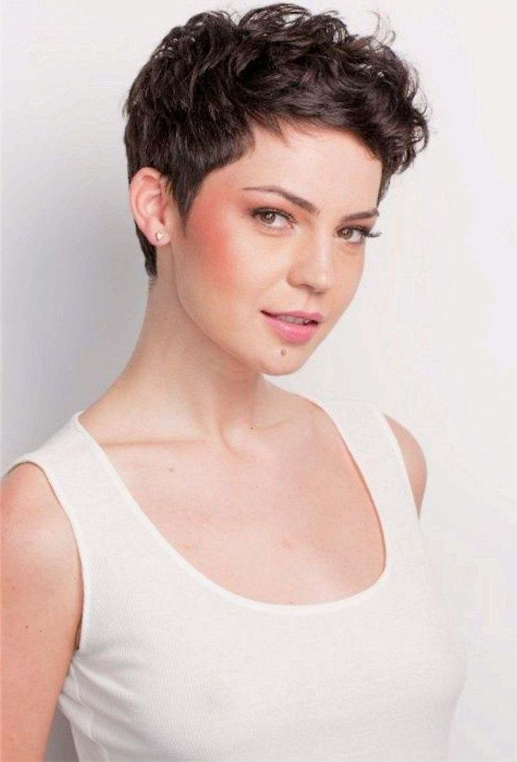 40 awesome short haircuts for curly hair sloe - 35 Charming Curly Pixie Hairstyles For Women