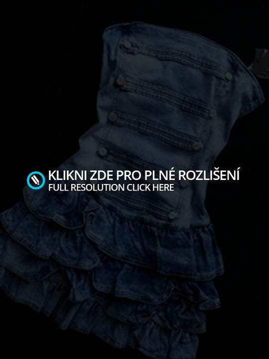 Riflové šaty :*   My Crazy Fashion