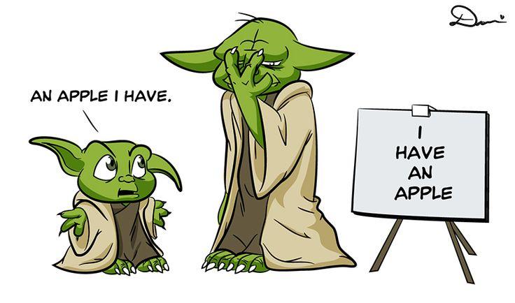Yoda's speech therapist gives up - Imgur