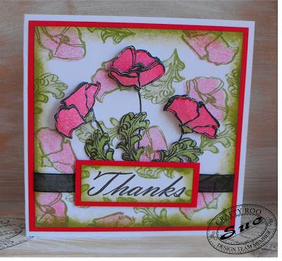November 2015 Monthly Make from Crafty Roo Designs