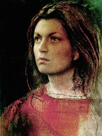 Pietro Annigoni 1910-1988 | Italian Portrait and Fresco painter