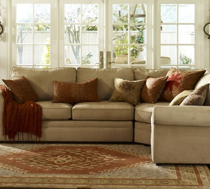 Sectionals pottery barn decoration news Pottery barn sofa