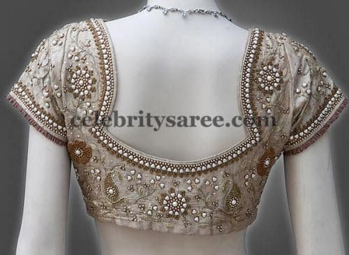 Netted Blouse Designs | Saree Blouse Patterns