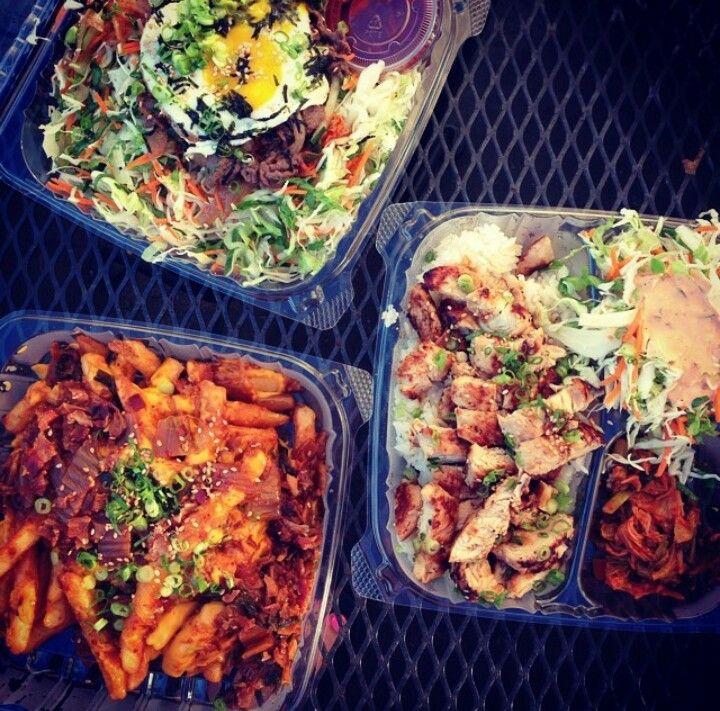 Eat here!  Bop n Grill   -Lei Pins