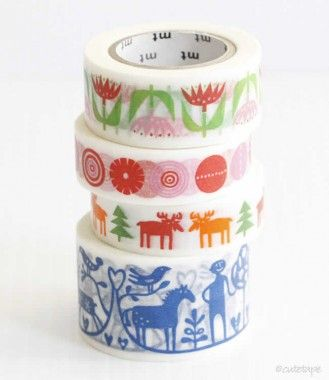 MT Bengt&Lotta Washi Tape - NEW Washi Tape - Japanese Washi Tape