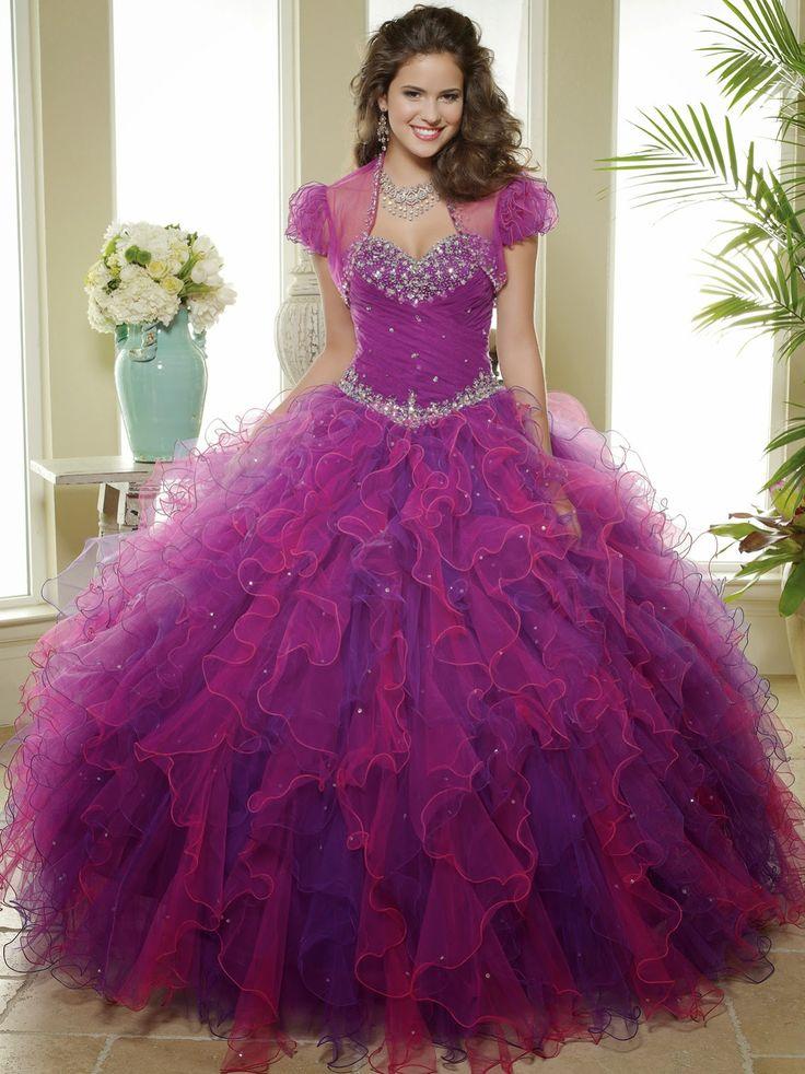 vestidos lindos de quinceañeras - Buscar con Google