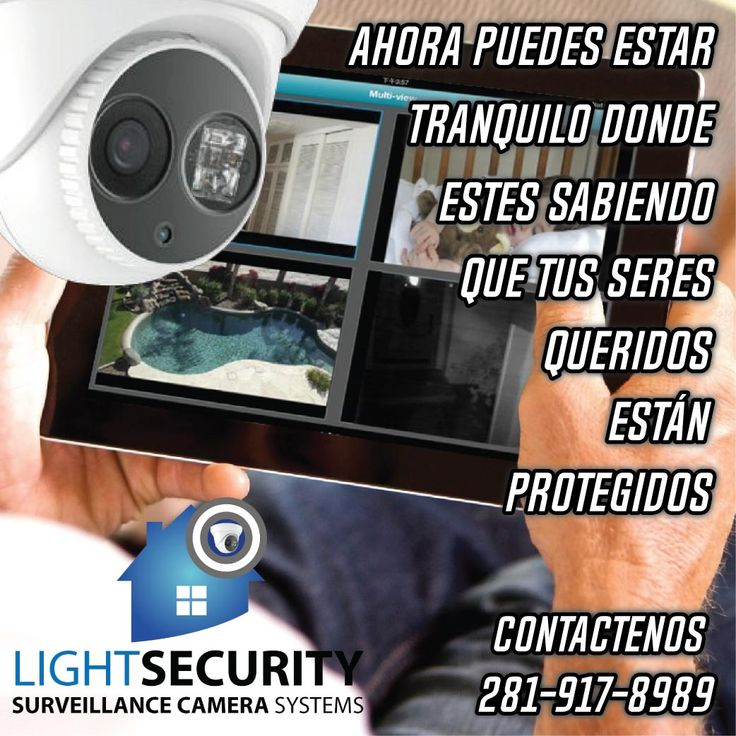 Nuestra especialidad es ayudarle en todo el proceso de su sistema de cámaras de seguridad #CamarasDeSeguridad #HoustonTx #Casa #Empresa #Oficina #PatrimonioProtegido #ProtejaLoQueMasAma #negocios #videos #vigilancia #Houston #texas #usa #sistemadevigilancia #Monitoreo #proteccion #robo #hurto #ladron #like4like #follow4follow #sigueme #followforfollowback #publicity #online #emarketing #commentforcomment #expertos