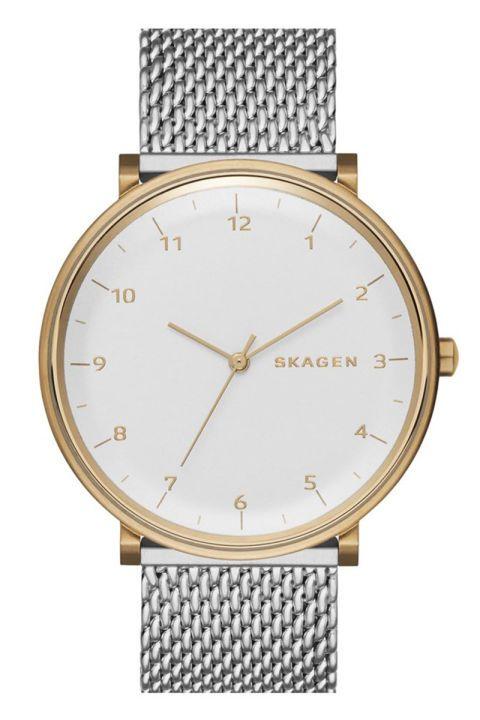 Skagen watch, $175, skagen.com.