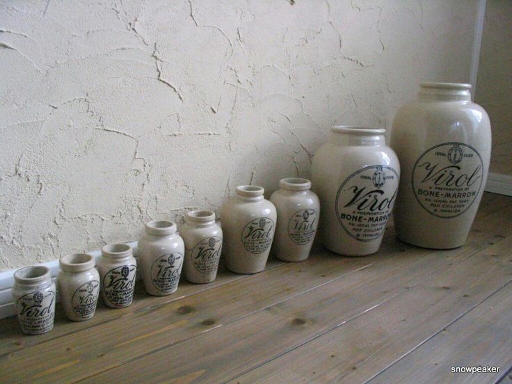 Antique Virol jar series