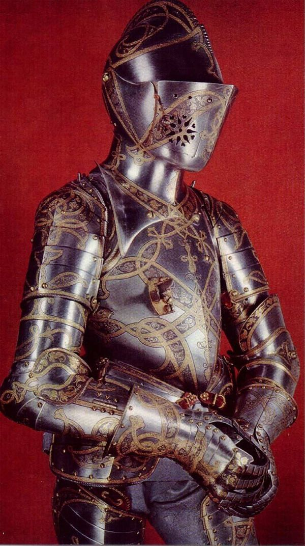 Medieval armour http://www.historynotes.info/medieval-arms-and-armoury-2318/