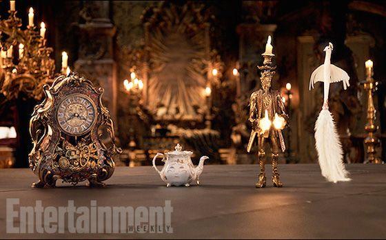 TODAY / A Bela ea Fera, as primeiras imagens do filme da Disney