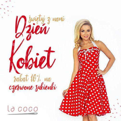 Zapraszamy do https://lacoco.pl/ po eleganckie, seksowne czerwone sukienki <3 , które pokuszą Cię -10% rabatem <3 Zajrzyj już dziś i spraw sobie wyjątkowy prezent na Dzień kobiet :)