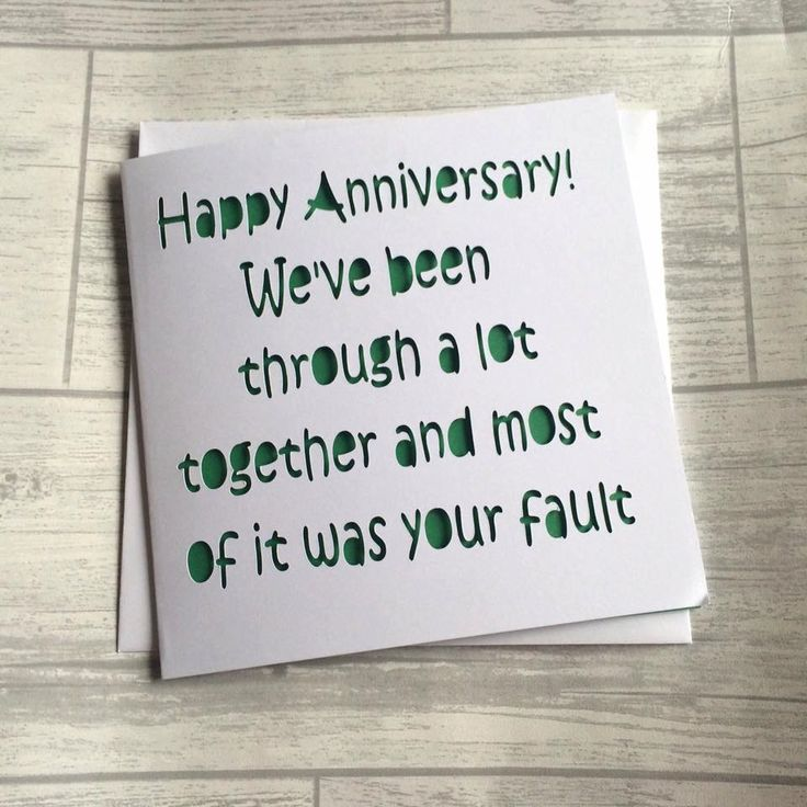 Best ideas about anniversary cards for husband on