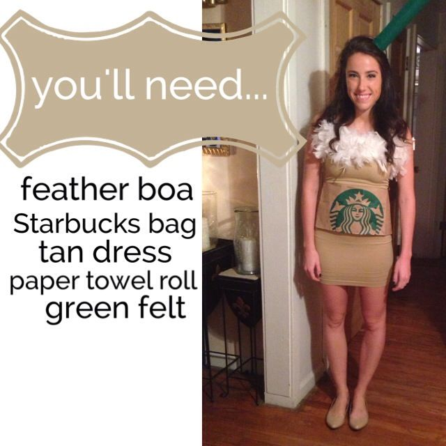 How I'd Style: A Starbucks Halloween Costume