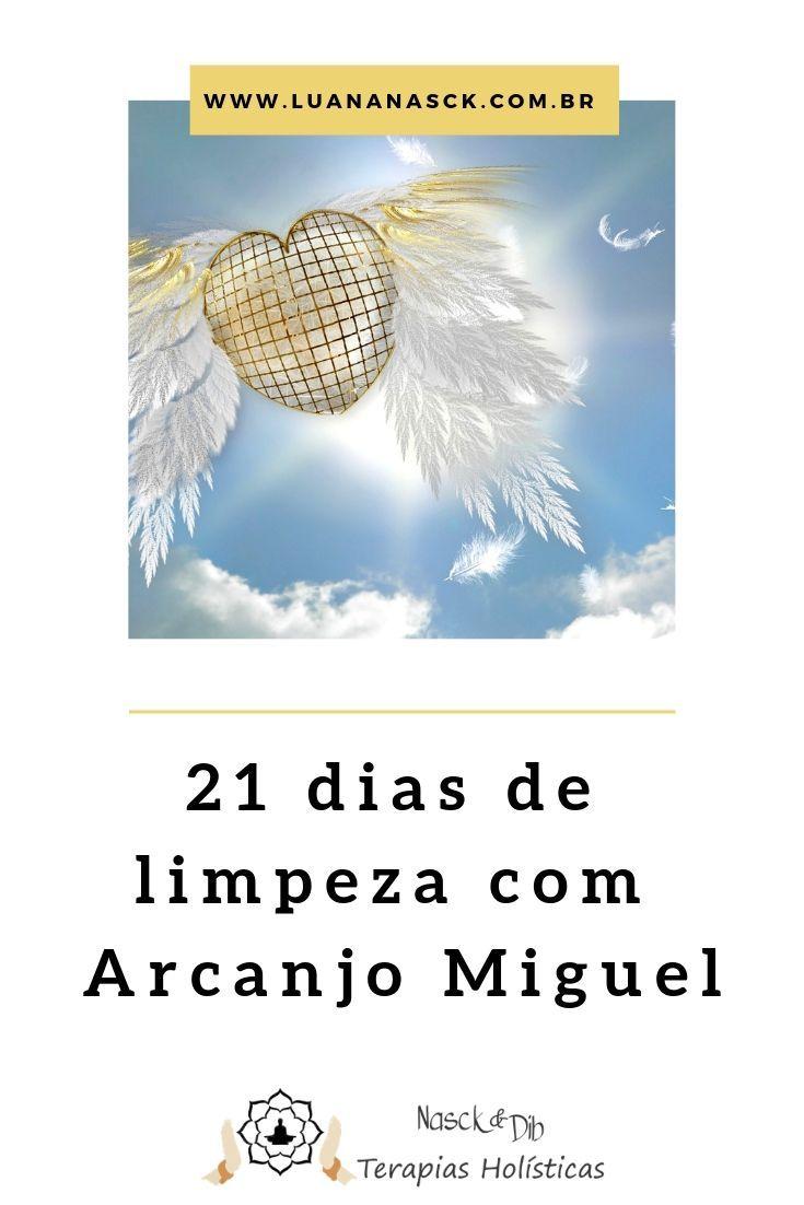 Limpeza Espiritual 21 Dias Oracao Do Arcanjo Miguel Oracao Do