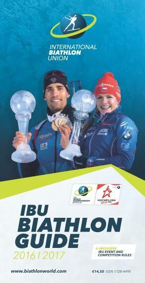 IBU Biathlon Guide - 2016/2017