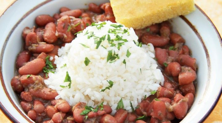 New Orleans-Style Red Beans & Rice :: Camellia Brand