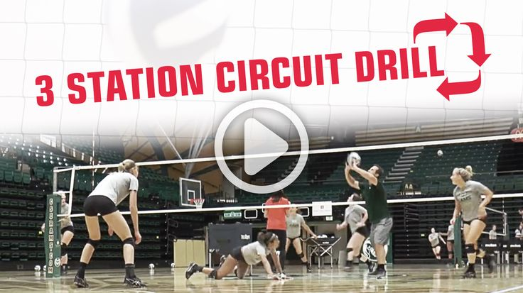 Work on conditioning and get your players going for balls in this 3-station defense circuit. For more drills check out: theartofcoachingvolleyball.com