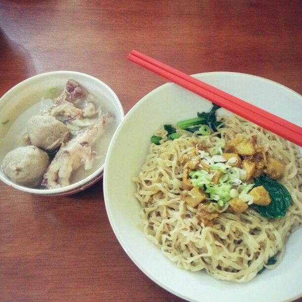 Mie Ayam Special Ceker