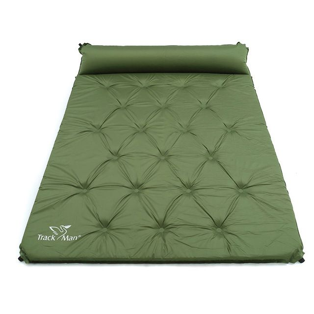 2 Person Automatic Inflatable Mattress Outdoor Camping Mat Pad Self Inflating Moistureproof Picnic Tent Mat Wi Inflatable Mattress Outdoor Mattress Camping Mat