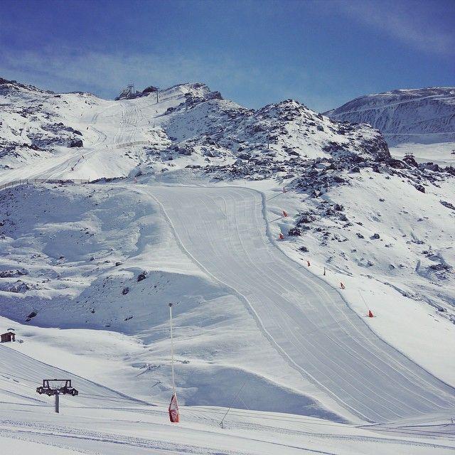 #firstsnow in Ischgl, Austria <3 #lovetirol
