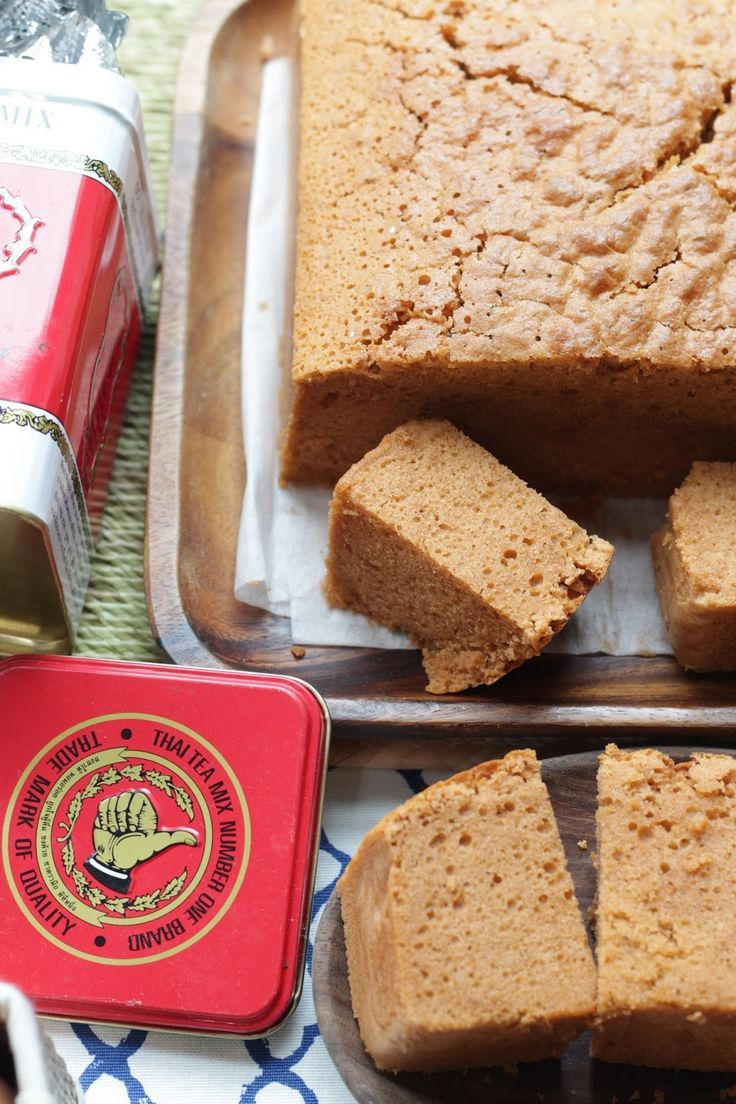 Honey Bee Sweets: Thai Milk Tea Butter Cake