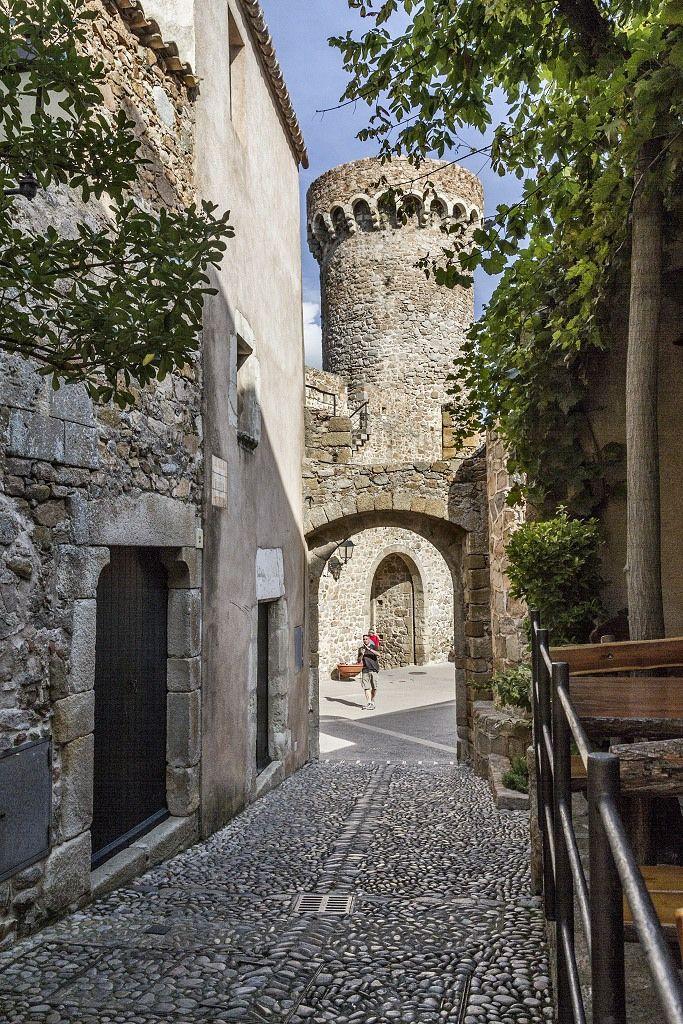 Puerta de Tossa de Mar, Catalonia, Spain