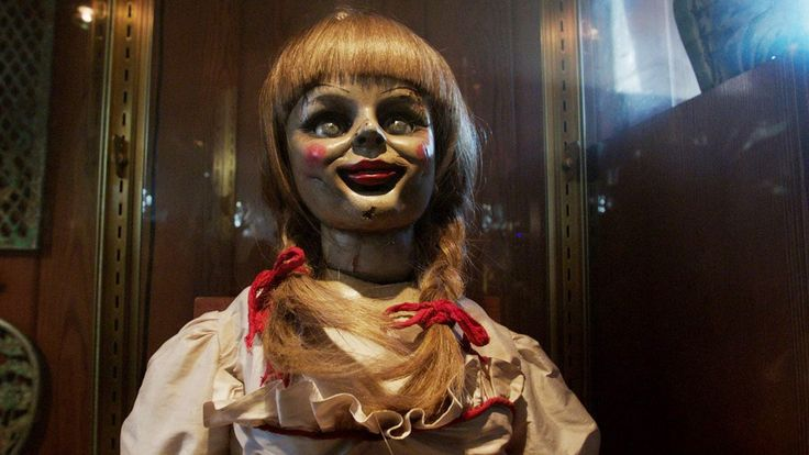Annabelle was the focus of a case that famed paranormal investigators Ed and Lorraine Warren took part in during the early 1970s, and is highlighted in the book The Demonologist. Description from wikispears.com. I searched for this on bing.com/images