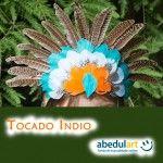 Disfraz para Carnaval - Tocado de indio paso a paso