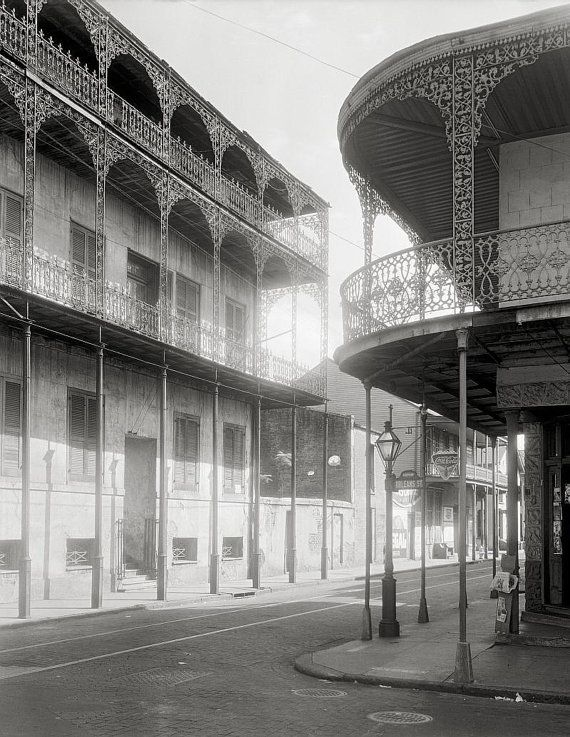 New Orleans, 1937.Le Pretre Mansion, Orleans Parish, Louisiana.Also called House of the Turk.New Orleans photography.
