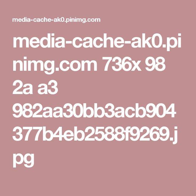 media-cache-ak0.pinimg.com 736x 98 2a a3 982aa30bb3acb904377b4eb2588f9269.jpg