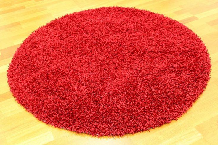 Runda mattor - Fancy (Röd)