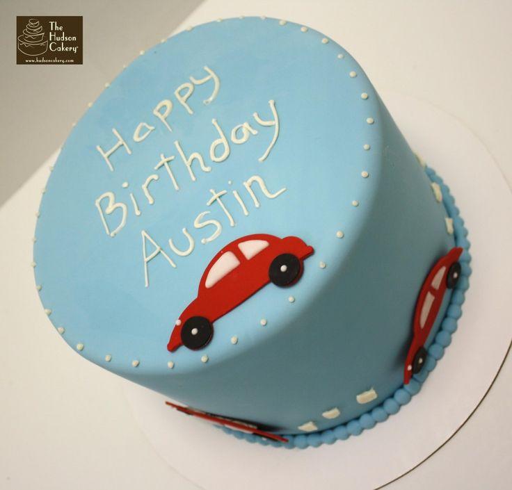 1st Birthday Cars Cake Design