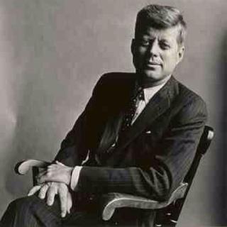 John F. Kennedy by Irving Penn