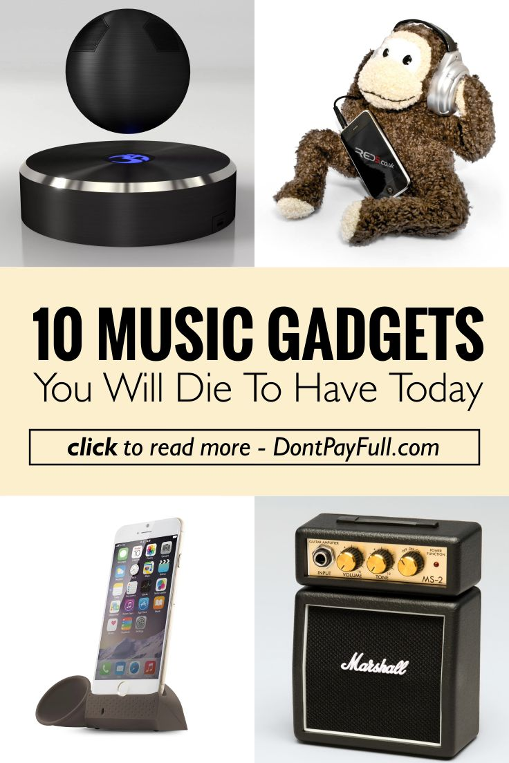 10 Music Gadgets You Will Die to Have Today #DontPayFull