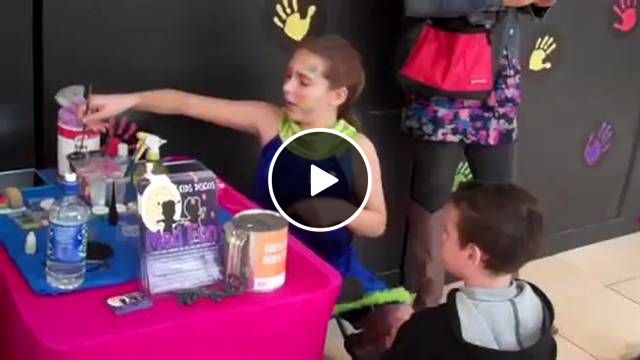 #Kids absolutely love face #painting so MADFUN offers face painting for every #child in the kid's #birthday #party organized by them and special birthday child can have more than one design too. Just check out this video footage from a party organized by #MADFUN and for more #please visit http://www.madfun.com.au